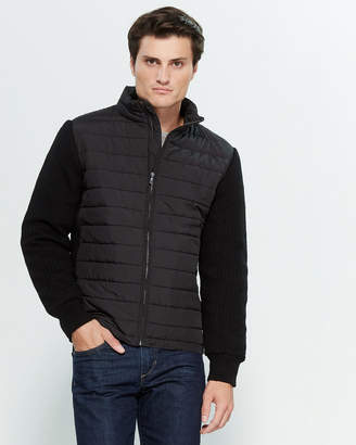 Zachary Prell Federal Contrast Puffer Jacket