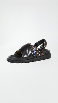 Toga Pulla Crisscross Sandals