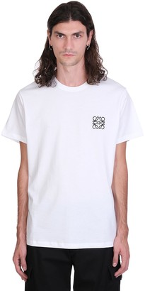 Loewe T-shirt In White Cotton
