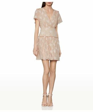 BCBGMAXAZRIA Women's Daisy Chiffon Mini Dress