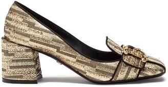 Dolce & Gabbana Block Heel Loafers