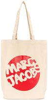 Marc Jacobs logo print tote - men - Cotton - One Size
