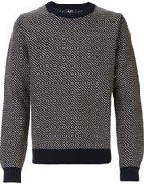 A.P.C. contrast trim jumper
