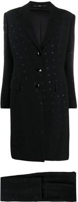 Gianfranco Ferré Pre Owned 1990s Appliques Two-Piece Suit
