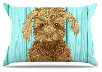 The Great East Urban Home Gatsby by Art Love Passion Dog Cotton Pillow Sham East Urban Home
