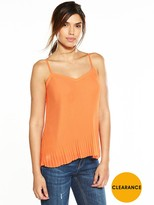 Very Pleated Cami
