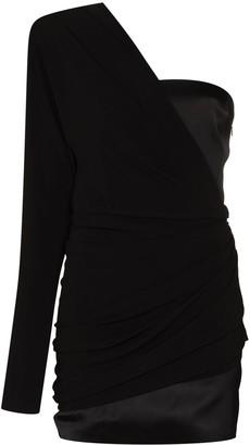 GAUGE81 Saratov one-shoulder mini dress