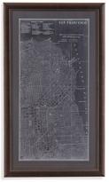 Bassett Mirror Graphic Map of San Francisco