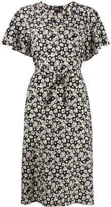 Aspesi Floral Midi Dress