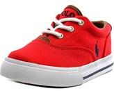 Polo Ralph Lauren Vaughn Ii Round Toe Canvas Sneakers.
