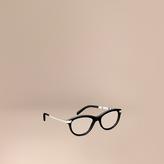 Burberry Two-tone Cat-eye Optical Frames
