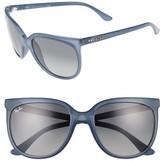 Ray-Ban Women's Retro Cat Eye Sunglasses - Black/ Black