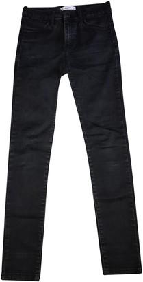 MANGO Black Cotton Jeans for Women