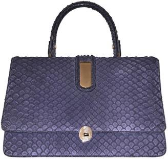 Loewe \N Blue Python Handbags