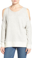 Caslon Cold Shoulder Sweatshirt