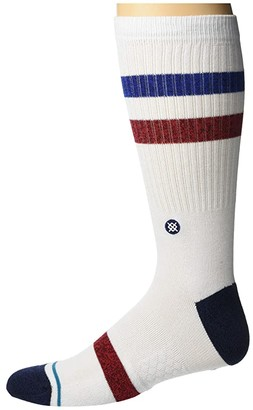 Stance Five Star (White) Crew Cut Socks Shoes