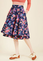 Essence of Elan Midi Skirt in 3X