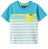 Volcom Boys' Skape Stripe S/S Crew Neck Tee (2T4T) - 8130600