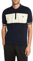 Fred Perry Men's Trim Fit Stripe Polo