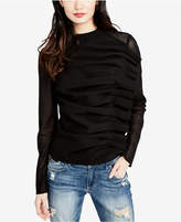 Rachel Roy Ruched Illusion-Detail Top, Created for Macy's