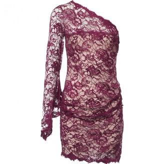 Emilio Pucci Purple Lace Dress for Women