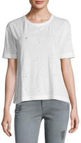 Zadig & Voltaire Kanye Pointelle Cotton Tee