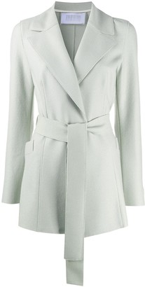 Harris Wharf London Knitted Belted Coat