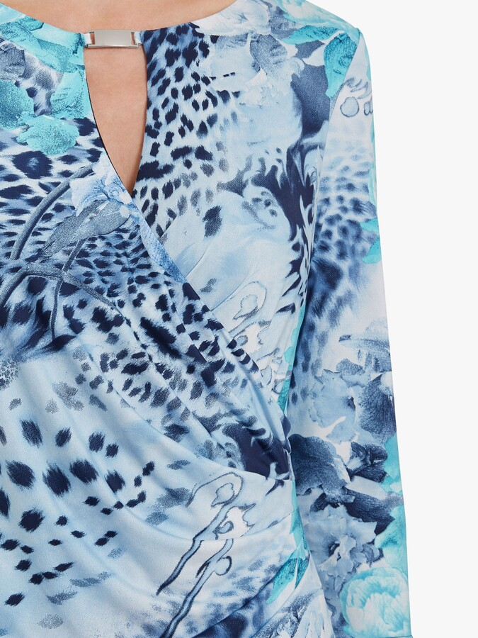 Thumbnail for your product : Gina Bacconi Mikelle Jersey Dress, Turquoise