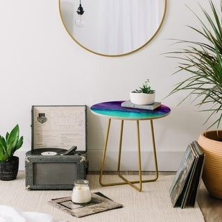 Deny Designs The Sound Marble Side Table