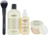 philosophy purity, prep & perfected 4-piece skincare system
