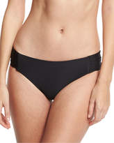 Luxe by Lisa Vogel Premier Shirred-Side Swim Bottom