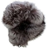 Marc Jacobs Fox Fur Trapper Hat