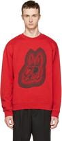 McQ by Alexander McQueen Red Bunny Clean Sweatshirt