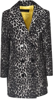Ermanno Scervino Double-breasted Leopard Coat
