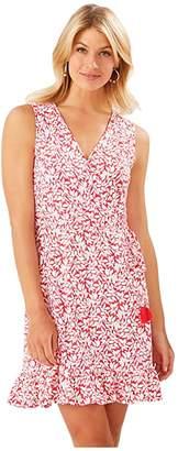 Tommy Bahama Vivid Vines Sundress (Teaberry) Women's Clothing