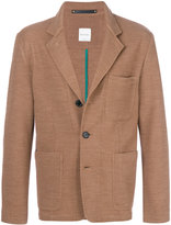 Paul Smith knitted blazer - men - Cotton/Polyamide/Wool - XS