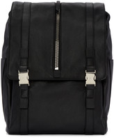 Giuseppe Zanotti Black Zipper Boris Backpack