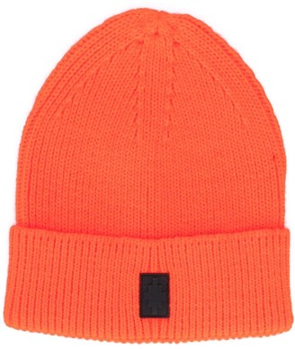 Marcelo Burlon County of Milan Cross ribbed-knit beanie
