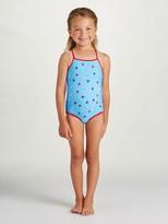 Oscar de la Renta Mini Daisy Toss Classic Swimsuit