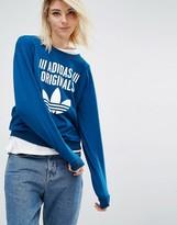 adidas Sweatshirt With Trefoil Logo
