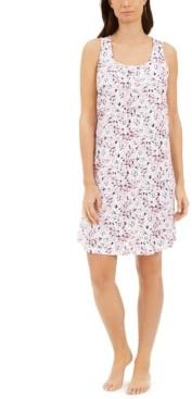 Charter Club Cotton Sleeveless Sleep Shirt Nightgown, Created for Macy's