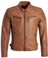 Gipsy Chester Leather Jacket Cognac