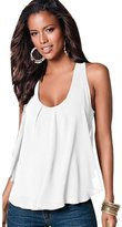 ABC Women' Bloue, Women'ummer Chiffonleevele Bloue Ladieexy Caual Looe Vet Tank Top