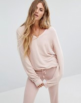 Wildfox Couture Baggy Beach V Neck Sweater