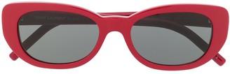Saint Laurent SL316 Betty rounded sunglasses