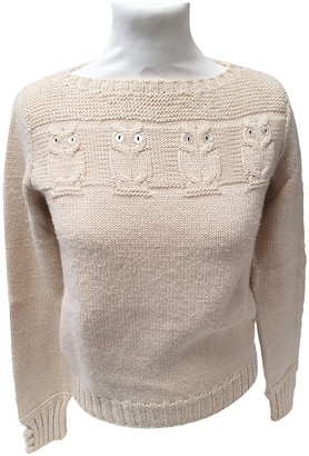 Marc Jacobs Beige Wool Knitwear