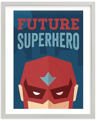 Pottery Barn Kids Super Hero Wall Art by Minted