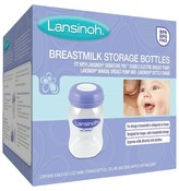 Lansinoh Breastmilk Storage Bottles Wide Mouth 4pk