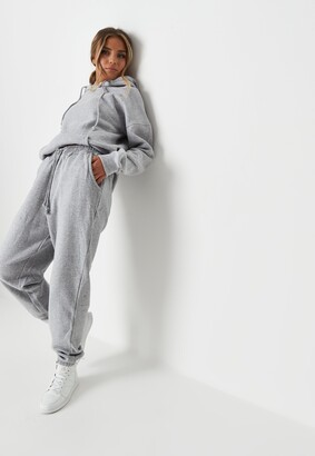 Missguided Tall Grey Marl Oversized 90S Joggers