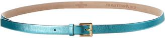 Valentino Metallic Leather Belt
